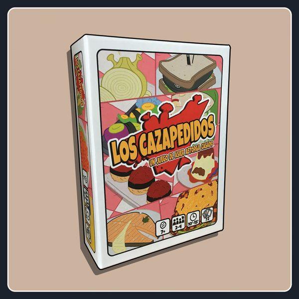 Los Cazapedidos - caja